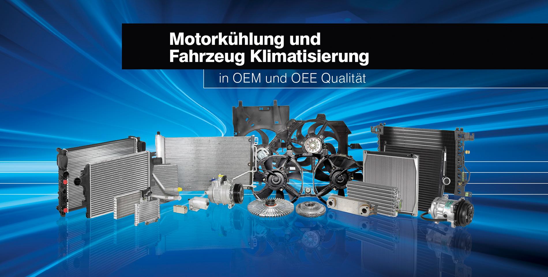 Motorkühlung und Fahrzeug Klimatisierung